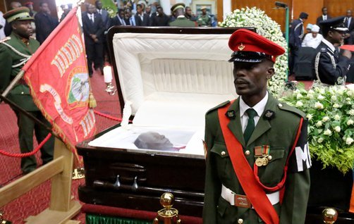 President Sata S Body Viewing Ends Q Fm