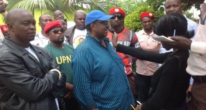 UPND Vice President for Administration Geoffrey Mwamba