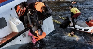 22 dead as two boats sink in eastern Aegean Sea