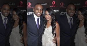 "October 22, 2012. Nick Gordon (L) and Bobbi Kristina Brown attend the opening night of ""The Houstons: On Our Own"" in New York. (Reuters)"