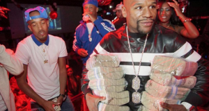 Floyd Mayweather enters a nightclub armed only with wealth