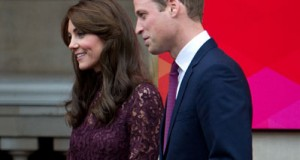 The Duke and Duchess of Cambridge co-ordinated their style when they were pictured at Lancaster House [Splash]