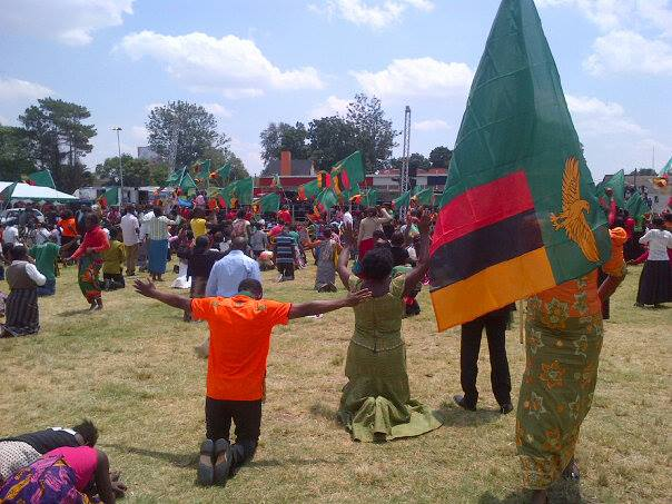 D Exhibition Zambia : Zambians observe national day of prayer fasting q fm