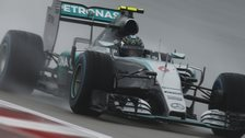 Rosberg beats Hamilton to US pole
