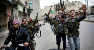 The Free Syrian Army is among the moderate rebel groups which have received training from the US