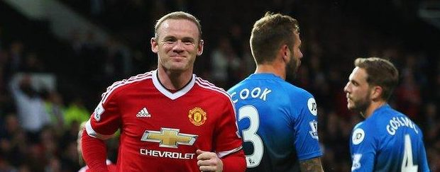 Wayne Rooney has scored 100 Premier League goals at Old Trafford - only Thierry Henry has scored more at one ground (114 at Highbury)