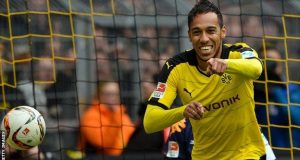 Aubameyang signed for Borussia Dortmund from St Etienne in 2014