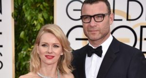In this Jan. 11, 2015 file photo, Naomi Watts, left, and Liev Schreiber arrive at the 72nd annual Golden Globe Awards in Beverly Hills, Calif.  (John Shearer/Invision/AP)