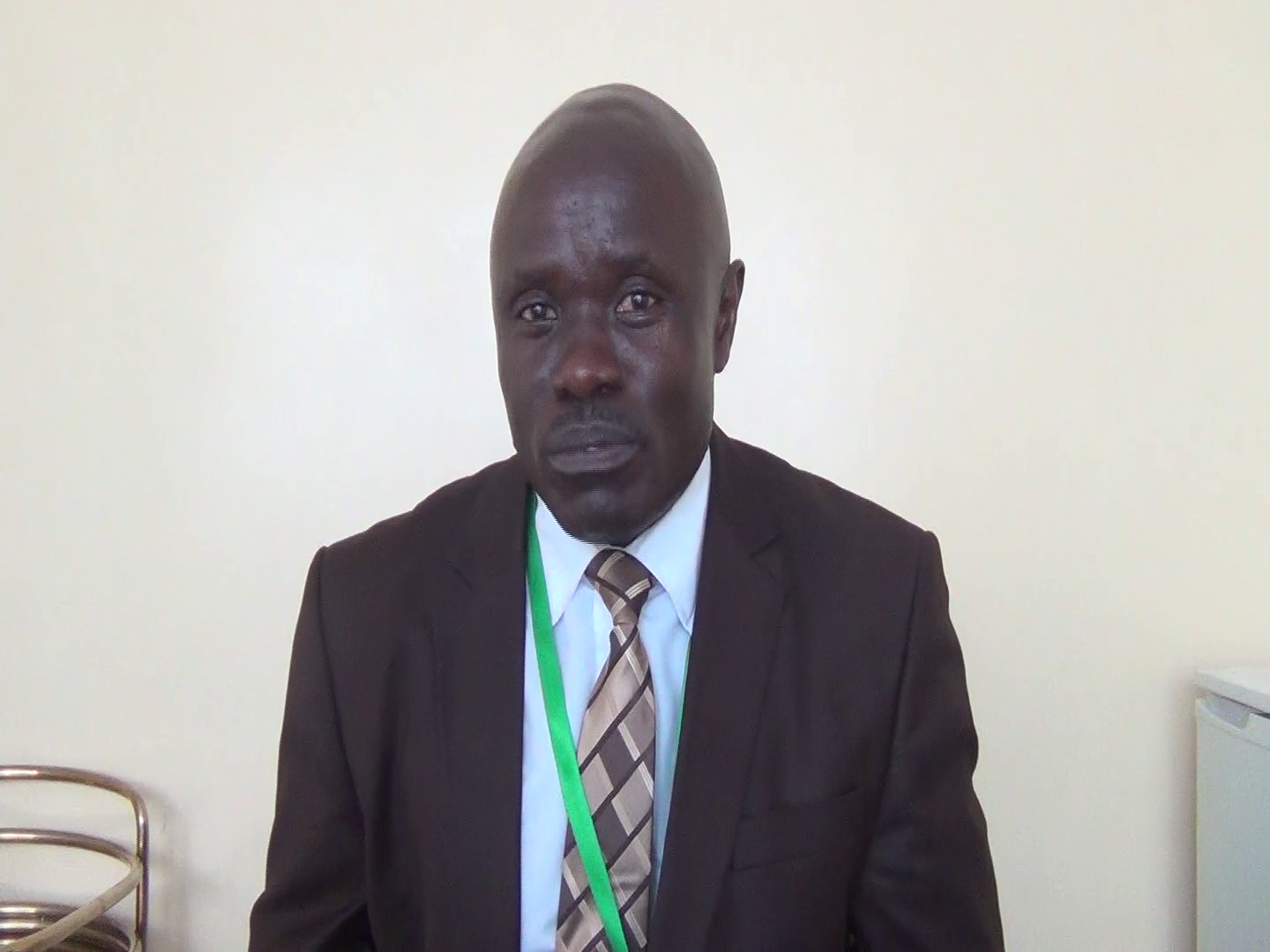 Teaching Council of Zambia Registrar, Dr. Ebby Mubanga