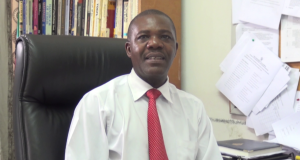 Political Scientist Dr. Alex Ng'oma