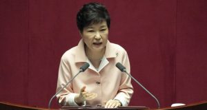 Ms Park has resisted calls to step down but said she would leave the decision up to parliament