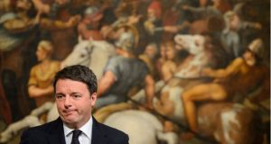 """""""I lost and the job that goes is mine"""" - Matteo Renzi after losing the battle for reform"""