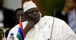 President Yahya Jammeh says there were irregularities in the Gambian election process