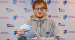 Sheeran is due to release his third album, ÷, on 6 March