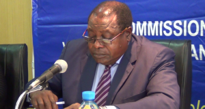 Commission Chairperson Justice Munalula Lisimba
