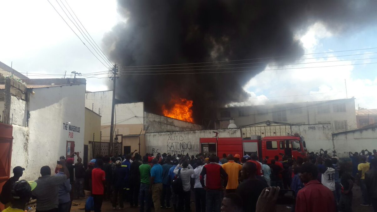 Bible House goes up in flames   Q FM