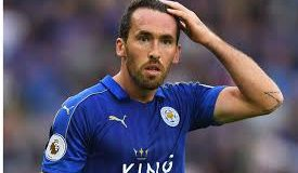 Leicester defender Christian Fuchs