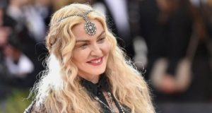Madonna (above) convinced the judge in Malawi that she was in good health and able to look after the twins