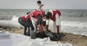 Over 100 migrants are feared to have drowned while trying to cross the sea between Libya and Italy