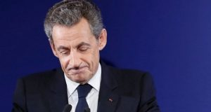 Mr Sarkozy led France from 2007-2012