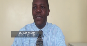 Dr. Alex Ng'oma Political Scientist