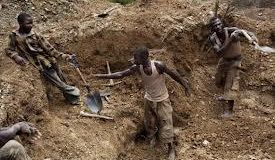 Illegal miners