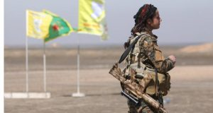 Syrian Democratic Forces (SDF) fighters are advancing towards Raqqa