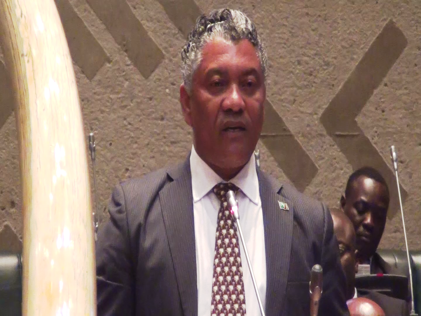 Justice Minister Given Lubinda