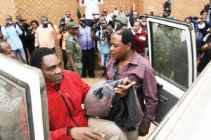 HH at Magistrates Court in Lusaka