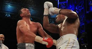 Wladimir Klitschko suffered the fifth defeat of his career