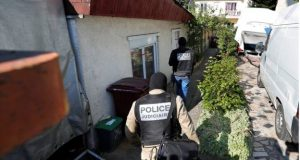Police searched an address in the Paris suburb of Chelles