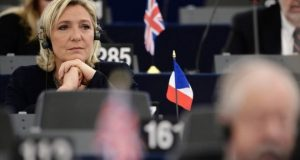 Ms Le Pen says the case is politically motivated