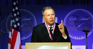 John Kasich's site was down for maintenance after the attack
