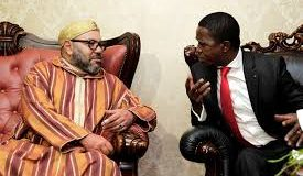 President Lungu with King Mohammed