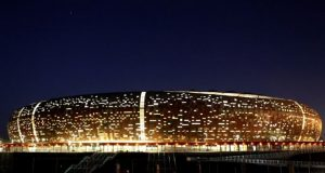 The FNB stadium was rebuilt for the 2010 football World Cup
