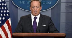 Mr Spicer's press briefings were a cable news hit