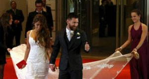 Messi first met his future bride when he was just five years old
