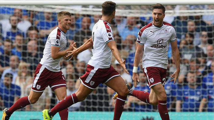 Nine-man champions Chelsea fall to stunning Burnley defeat Nine-man Chelsea fell to a shock 3-2 home defeat against Burnley