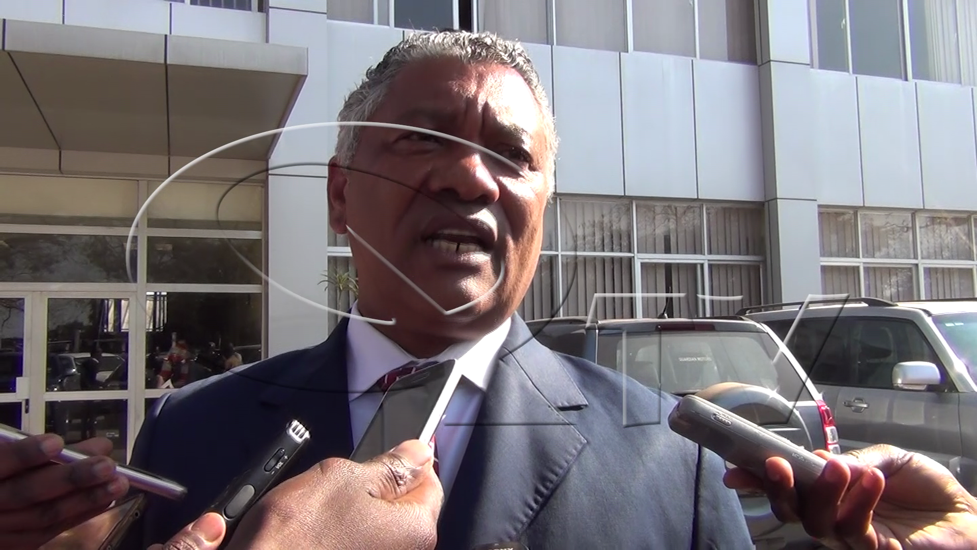 Given Lubinda  - Justice Minister Picture by Albert Mpezeni