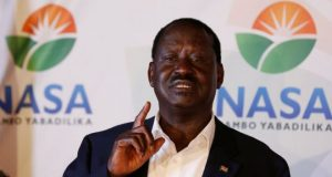 Raila Odinga will not stand in October's election