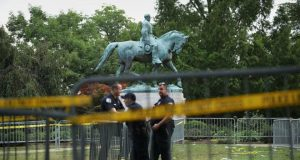 Civil War statues have prompted protests for many years
