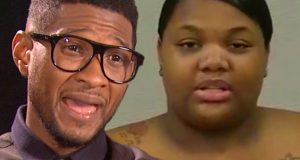 Usher in no way, shape or form had sex with the woman who came forward and claimed he exposed her to the herpes virus