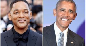 Will Smith and Barack Obama