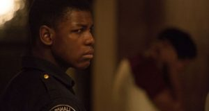 John Boyega said it was hard to gather his thoughts on the current events in the US