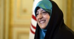 Ms Ebtekar has been reappointed as a vice-president
