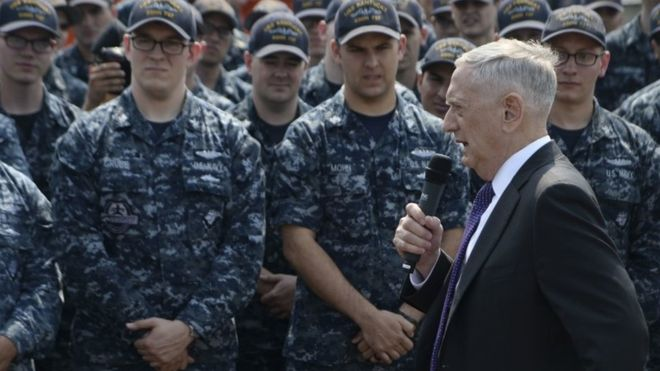 James Mattis said the 'tragedy of war' was well known