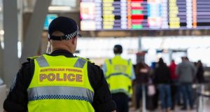 Australian police have stepped up their presence at the nation's airports