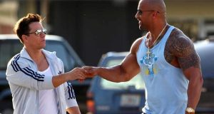 The Rock buds up with Wahlberg in Pain & Gain