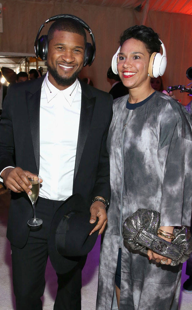 Who is usher dating 2011