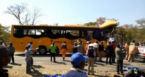 Four people killed while 67 others are injured in Power Tools Bus, Truck accident